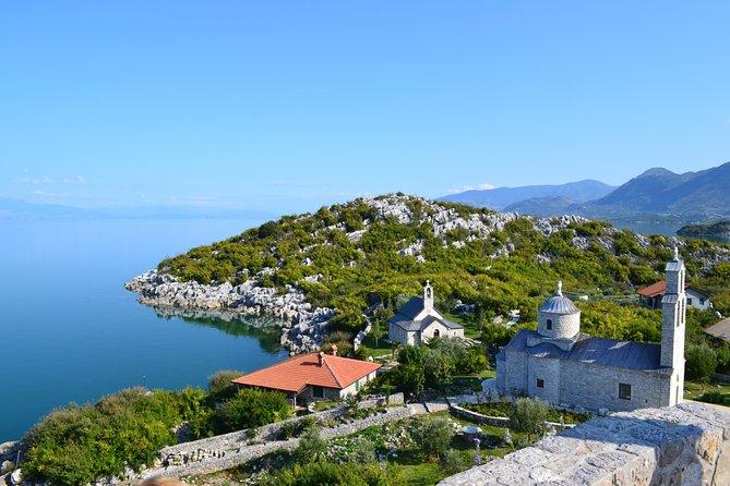 Kayaking to the island monasteries