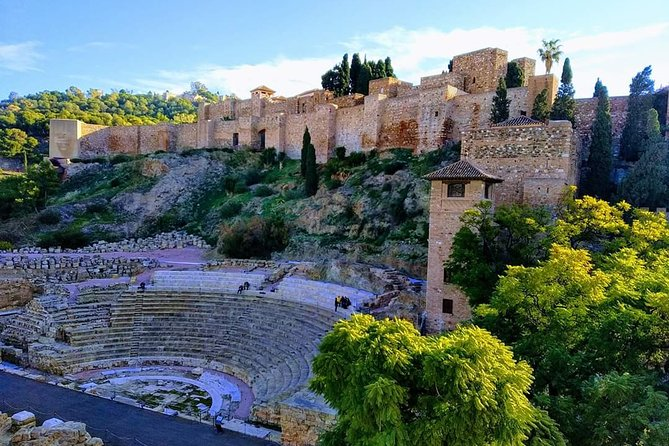 Malaga Shore Excursion: scenic & walking tour, Alcazaba visit with wine tasting