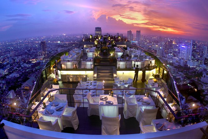 Bangkok: Vertigo Rooftop Fine Dining Experience @ Banyan Tree