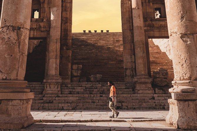 FROM AMMAN | UMM Qais, Jerash & Ajloun | Half Day Tour