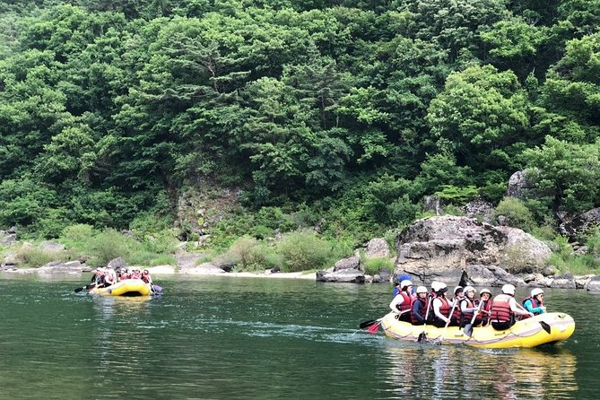 Private Rafting Tour + Activities from Seoul