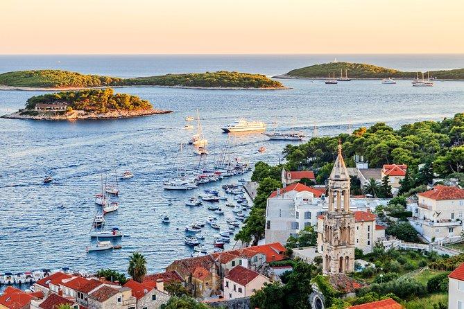 Private 3 Islands: Hvar, Pakleni Islands & Brac with Mercan 34 Speedboat