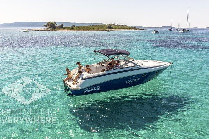 Private 3 Islands: Hvar, Pakleni islands & Brac with Cobalt 30 Speedboat