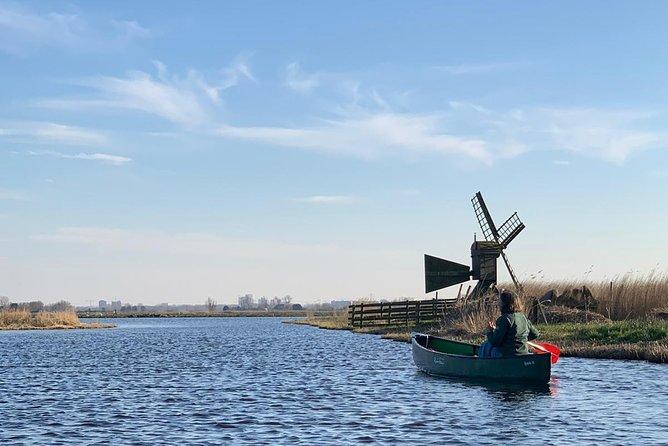 Fresh nose tour with the canoe through the nature near Amsterdam (coronaspecial)