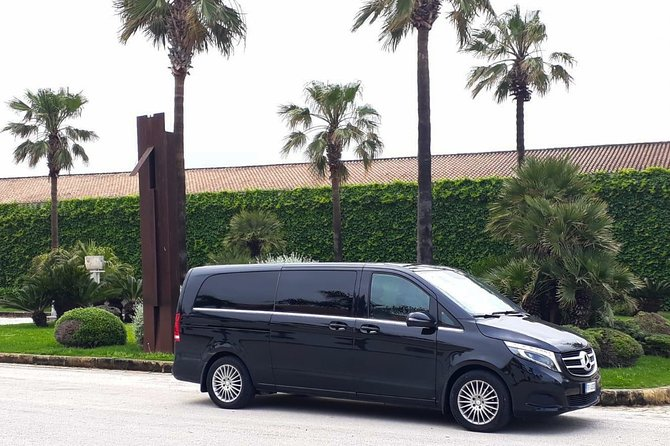 Private transfer from Palermo airport to Marsala port or vice versa