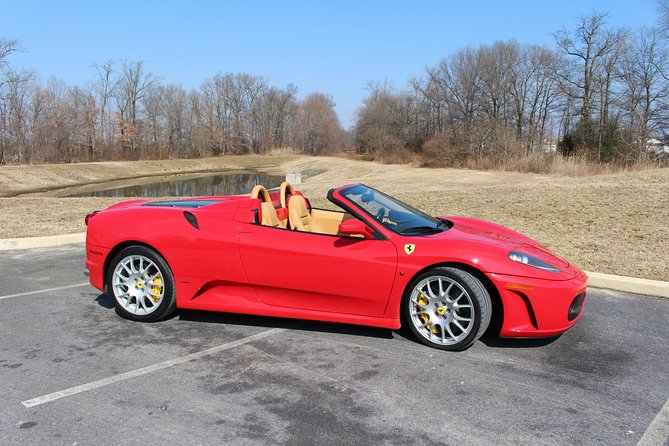 30-Minutes Supercar Driving Pilot Experience in Washington DC