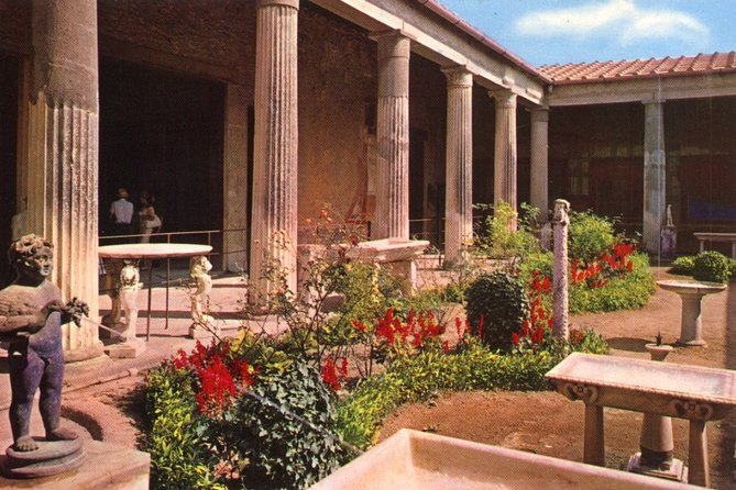 Naples daily Excursions: Pompeii Independent Half-Day Trip