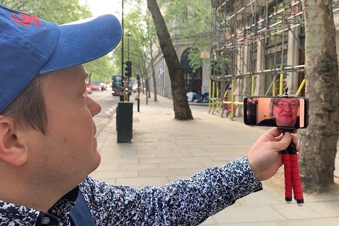 Online live London tour via zoom