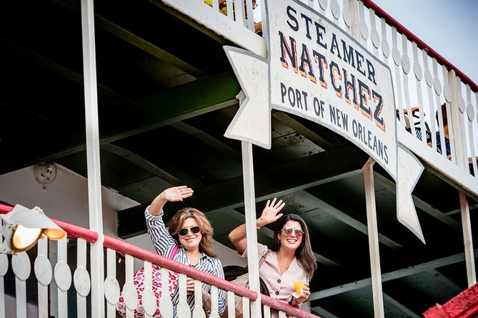 New Orleans Steamboat NATCHEZ Harbor Jazz Cruise: Social Distancing Series