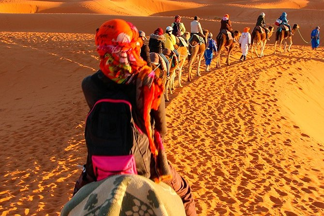 Sahara Desert of Merzouga Morocco 4 days tour from Fez and ending in Marrakech