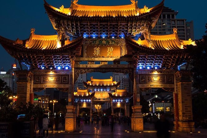 Private Kunming Night Tour with Dinner