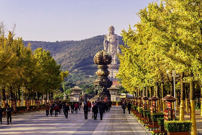 Wuxi Private Day Tour with Lingshan Buddhist Scenic Spot and Taihu Yuantouzhu