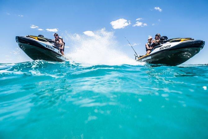 Visita guiada en moto de agua y esnórquel a Champion Bay