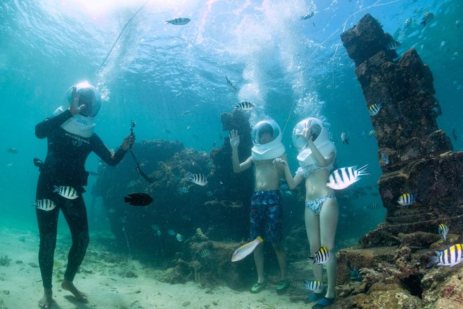 Bali Sea Walking Adventure in Sanur Ocean with Lunch