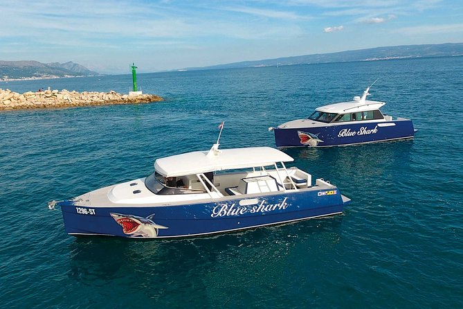 Blue Cave tour from Split with luxury speedboat