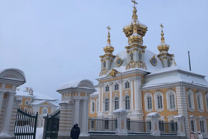 Full-Day Peterhof Grand Palace and Lower Park With Fountains