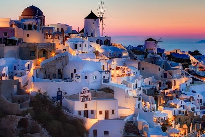 Santorini 2 days with excursion from Heraklion with Highspeed, hotel & breakfast