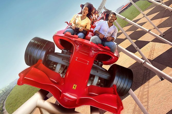 Ferrari World Tickets + Abu Dhabi City Tour with transfers from Dubai