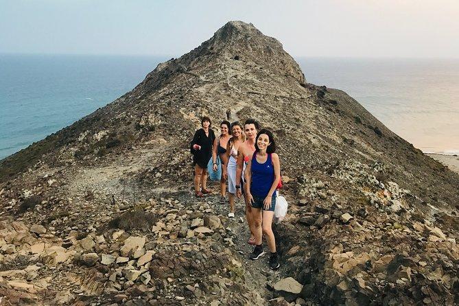 Hiking and magic sunset bathing at Cabo de Gata Natural Park
