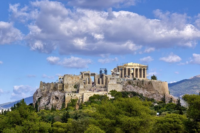 Self-guided Virtual Tour of Acropolis hill: The Highlights