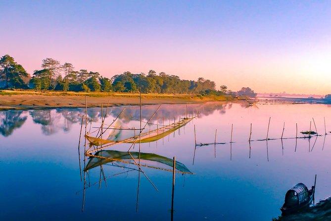 Private Assam Tea Estate, Rain Forest and River Island Tour