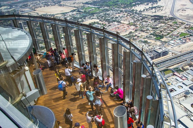 Top of Burj Khalifa Admission Ticket with Transfers
