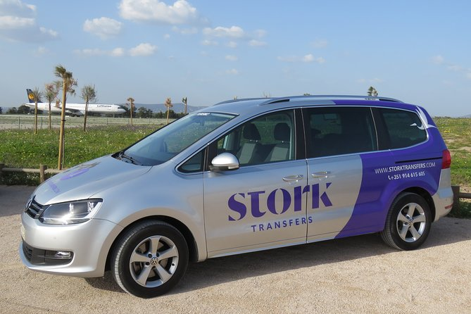Stork Transfers - Private Transfer From Faro Airport to Albufeira (up to 4 pax)