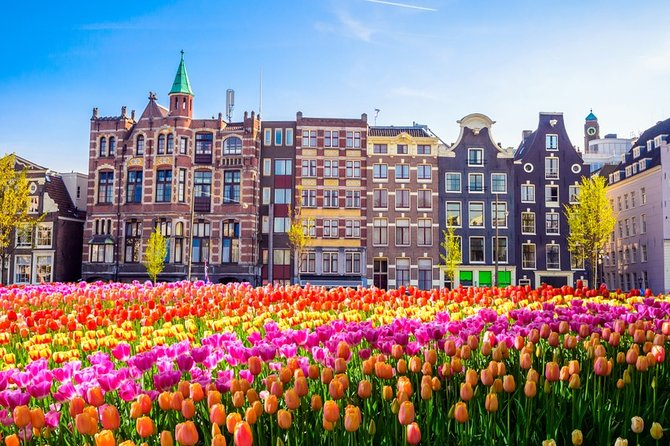 Amsterdam Private City Tour from Brussels with licensed Guide and Limo Driver