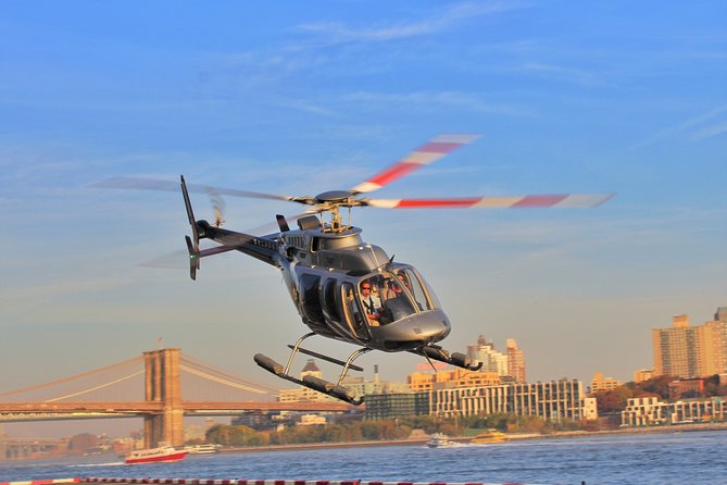 ZIp Tours Helicopter Over NYC
