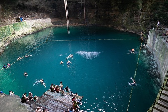 MAGICAL CHICHEN ITZA NIGHT SHOW Includes visit to cenote, Valladolid and buffet.