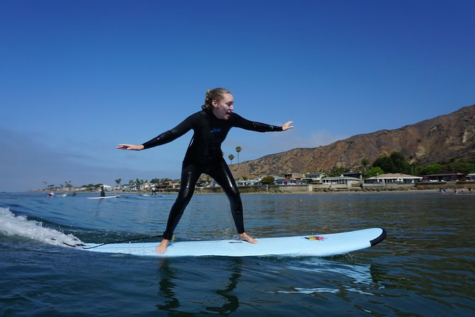 1-on-1 Private Surf Lesson in Santa Barbara