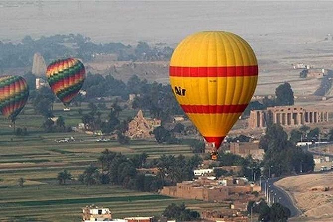 Hot Air Balloon Ride in Luxor,Egypt