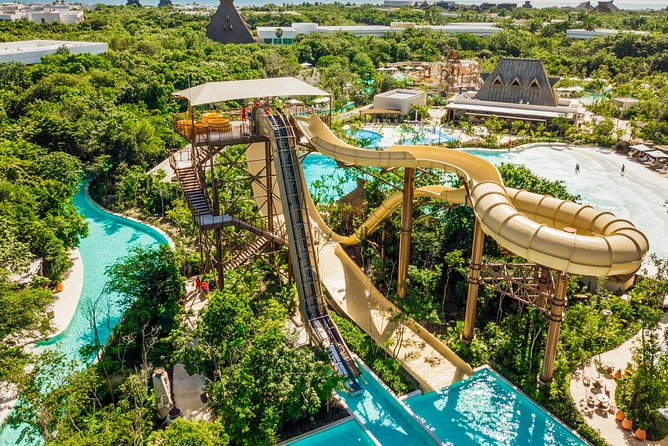 Have FUN on the MOST EXCLUSIVE WATER PARK of Riviera Maya.