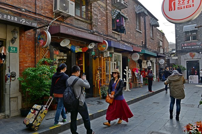 Private Night Tour of Shanghai Old City and Lujiazui with Pickup
