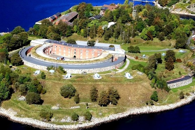 View of the Oscarsborg Fortress