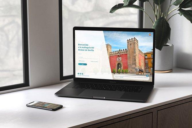 Virtual Audiovisual Guide 360 Alcazar of Seville