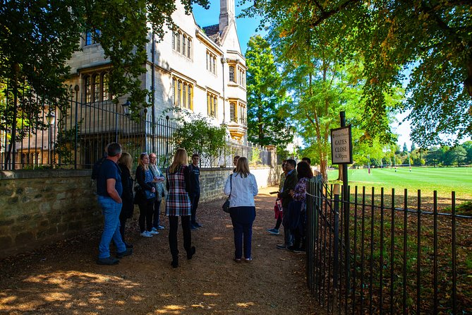 3-Hour Private Tour of Oxford With University Alumni Guide