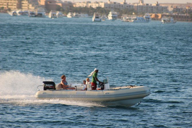 Learn How to drive a Zodiac boat & snorkeling Sea Trip - Hurghada