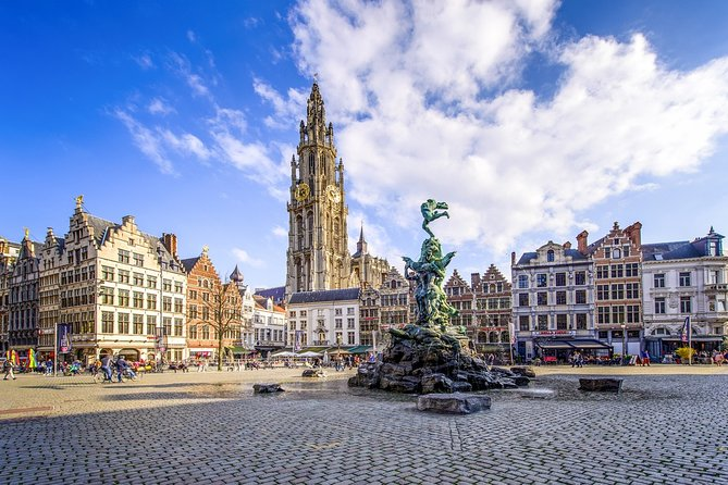 Antwerp Private City Tour Half-Day From Brussels +Licensed Guide and Limo Driver