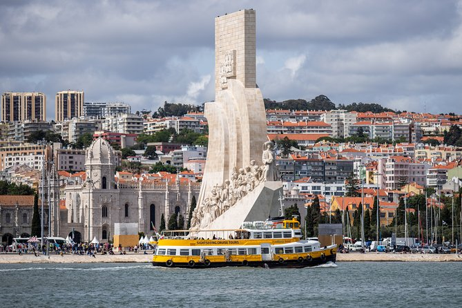 Lisbon Yellow Boat River Hop-On Hop-Off Tour