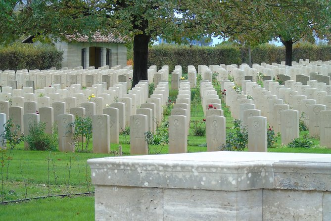 Montecassino Abbey and War Cemetery full-day from Rome