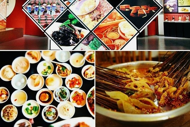 Private Full Day Sichuan Gourmet Food Tour from Chengdu