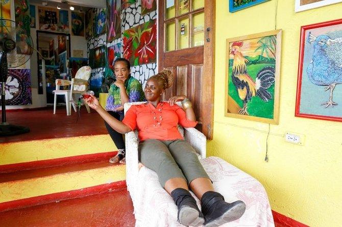 Ahhh Ras Natango Gallery and Garden Private Transfer