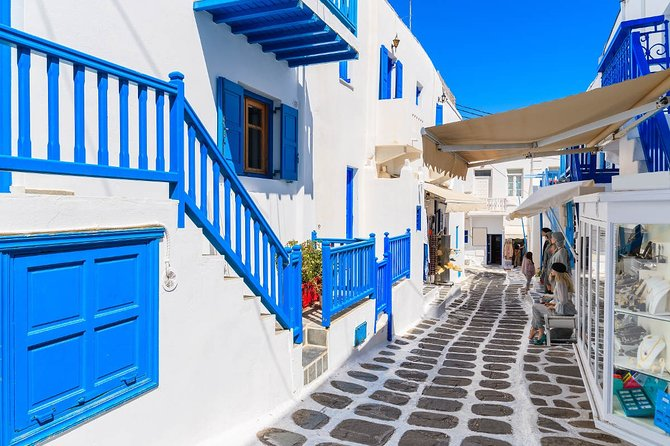 Private Transfer from Mykonos Airport (JMK) to Tagoo