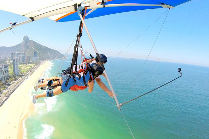 Hang Gliding in Rio de Janeiro with Hotel pick-up and drop-off