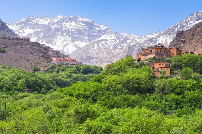 Marrakech Private day trip to Atlas moutains 3 valleys and camel ride with lunch