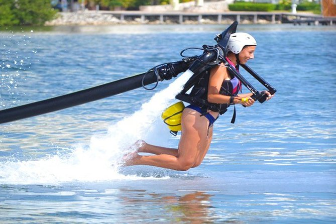 EXPERIENCE Flying through the Air in a JETPACK. Training, Equipment & Instructor