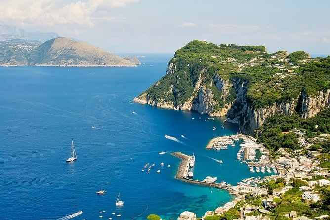 Capri Day Trip with Lunch from Naples