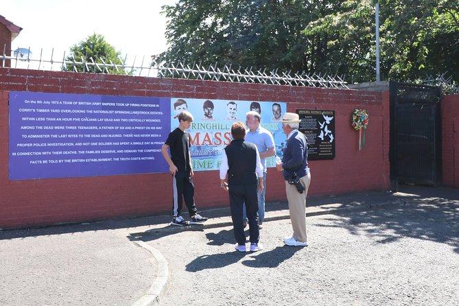 Republican Murals Walking Tour
