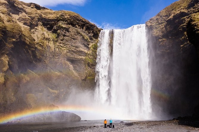 South Coast   Waterfalls, Puffin Cliff & Black Sand Beach From Reykjavik